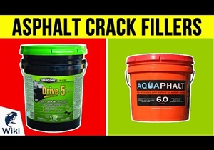 Roklin's FloMix chosen for a Wiki: Top 10 Asphalt Crack Fillers of 2018